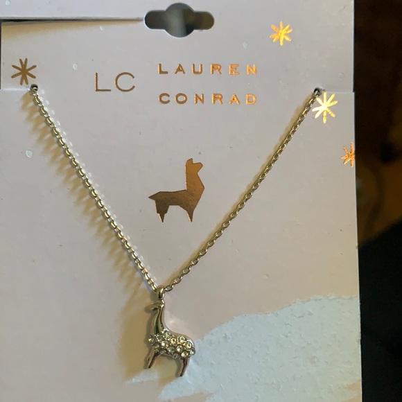 Lauren Conrad Llama Necklace